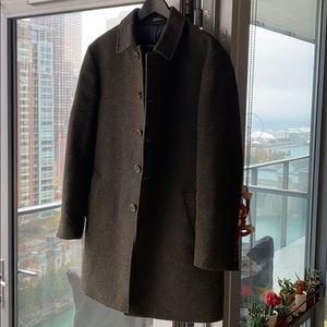 Ralph Lauren Men's Peacoat Wool + Down • 36R • M